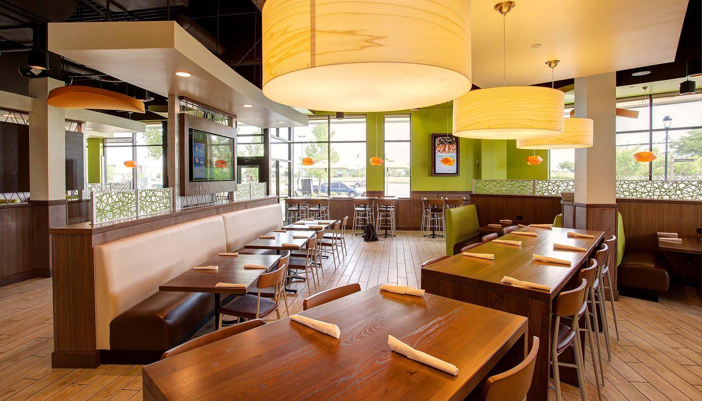 Fresh to order restaurant design